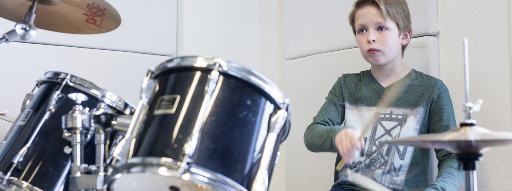 Drums-Slagwerk-Leerling