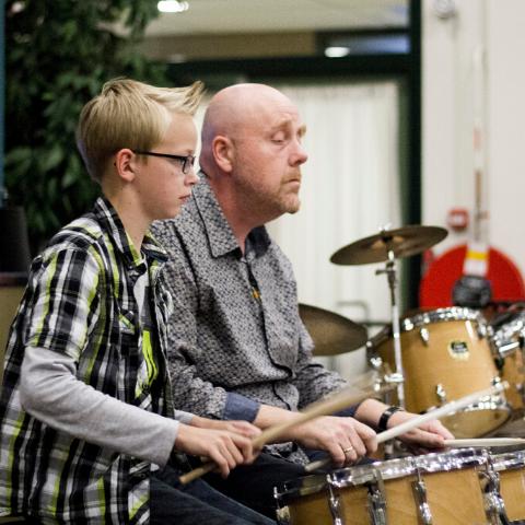 Roel Jan Jongsma | Drum en slagwerk